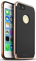 Ipaky TPU+PC iPhone 7 Black/Rose Gold