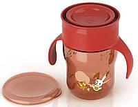 """Чашка """"взрослая"""" с клапаном (абрикосовая), 260 мл., Avent"""