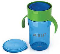 """Чашка """"взрослая"""" с клапаном (синяя), 340 мл., Avent"""