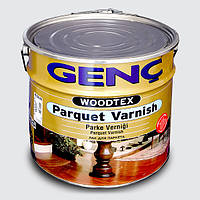 Паркетный лак Genc Parquet Varnish. Шелковисто-матовый. 12 кг