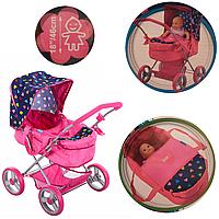 Детская коляска для кукол | классическая зимняя