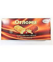 Шоколадно-вафельный  тортик  Отломи  кондитерская фабрика Акконд с орешками и воздушным рисом