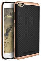 Ipaky TPU+PC Xiaomi Redmi 4a Black/Rose Gold