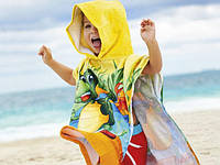 Детские пляжные пончо