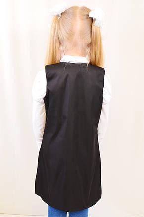 Красивый кардиган с карманами на девочку для школы, фото 3