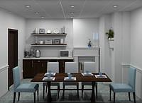 Кухня Контраст
