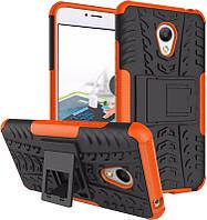 TOTO TPU+PC Shockproof case Tire Tread Meizu M3S Orange