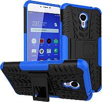 TOTO TPU+PC Shockproof case Tire Tread Meizu M3 Note Blue