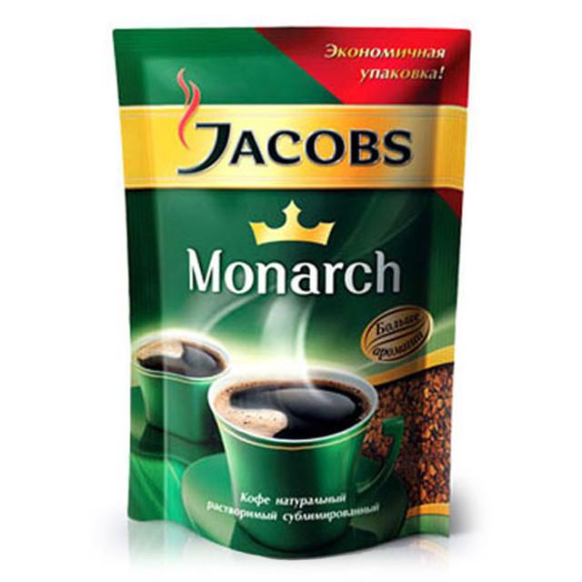 Кофе JACOBS Monarch растворимый 150г