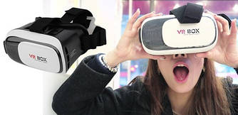 Очки виртуальной реальности VR BOX 2.0 PRO 3D (Оригинал)
