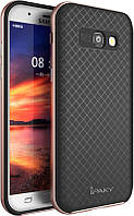Ipaky TPU+PC Samsung A5 A520F 2017 Black/Rose Gold