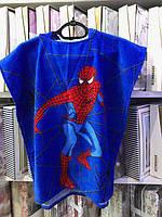 """Детское пляжное пончо """"Spidermen"""""""