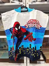 """Дитяче пляжне пончо """"Spidermen-2"""""""