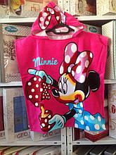 "Дитяче пляжне пончо ""Minni Mouse"""