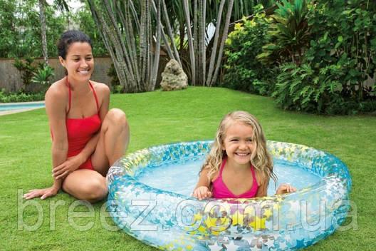 Детский надувной бассейн Intex 59421 Звездочки 122 х 25 см , фото 2