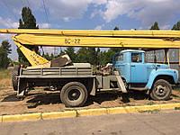 Аренда автовышки локтевой Вс22 на базе ЗиЛ130