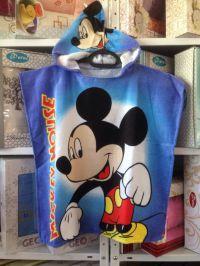 """Детское пляжное пончо   """"Mickey Mouse"""""""