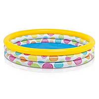 Детский надувной бассейн Intex 58439 Геометрия