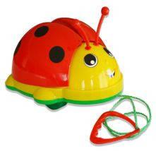 """Дитяча іграшка-каталка """"сонечко"""" 06-603 Kinder Way на мотузочці"""