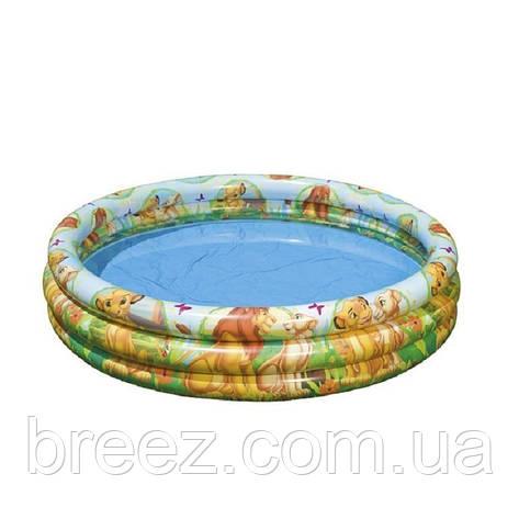 Детский надувной бассейн Intex 58420 Король Лев, фото 2