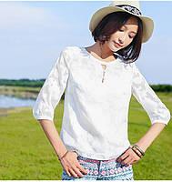 Нежная молодежная блузка