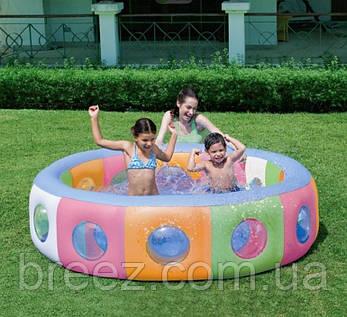 Детский надувной бассейн BestWay 51064 196 х 53 см, фото 2