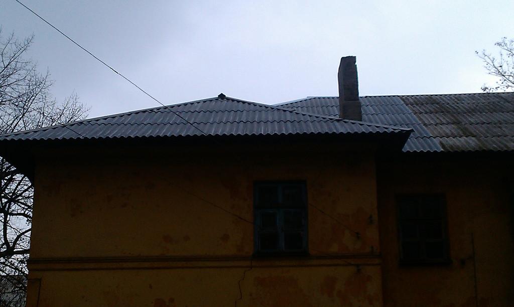 Ремонт крыши по ул.Гастрономическая, Донецк