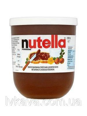 Шоколадно-ореховый крем Nutella Ferrero ,230 гр