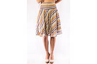 Юбка женская летняя разноцветная Zara TRF (L)