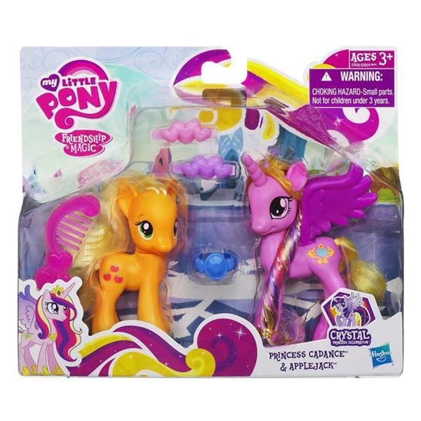 My Little Pony Princess Cadance & Applejack (Май Литл Пони Принцесса Каденс и Эплджек)