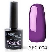 Гель лак цветной GPC Lady Victory