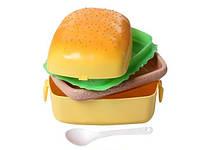 Ланч бокс Гамбургер Lunch Box Burger Прямоугольный