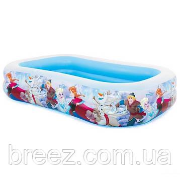 Детский надувной бассейн Intex 58469 Холодное сердце 262 х 175 см, фото 2