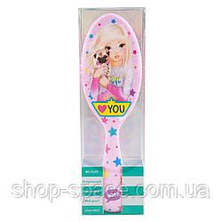 Расческа Top Model (розовая) с приятным ароматом