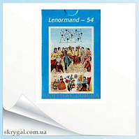 Lenormand-54. Карты таро.