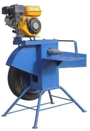 Измельчитель веток с приводом от бензинового двигателя (односторонняя заточка), фото 2