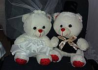 Свадебные мишки для свадебной машины (30 см)