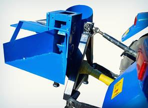 Измельчитель веток с приводом от минитрактора, односторонняя заточка ножей (2 вала), фото 2