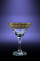 """Набор бокалов для мартини """"греческий узор"""""""