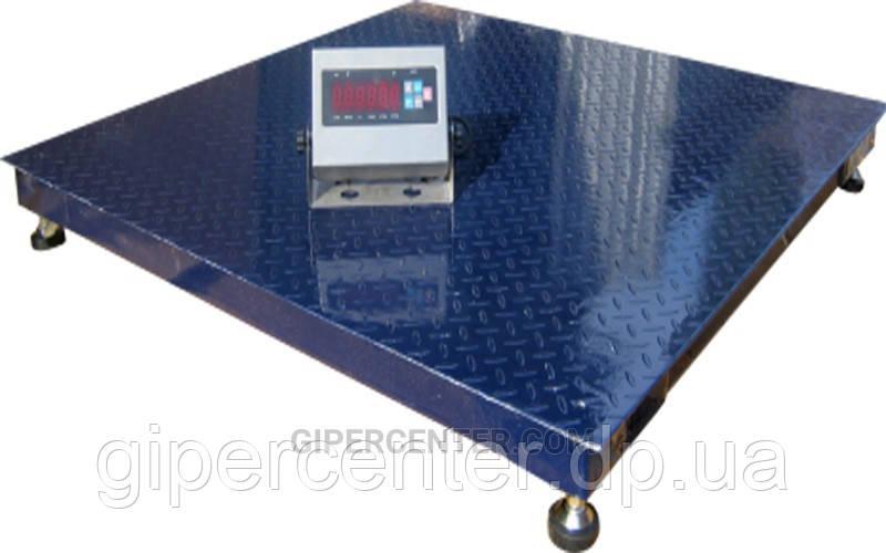 Платформенные напольные весы для склада ЗЕВС-Премиум ВПЕ-4 1500х2000мм, НПВ: 1000кг
