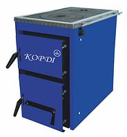Твердотопливный котел с плитой Корди АКТВ 10-16  кВт