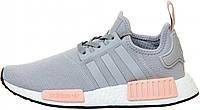 Женские кроссовки Adidas NMD R1 Grey/Pink