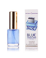 Мини-парфюм Antonio Banderas Blue Seduction For Men 15 мл (М)