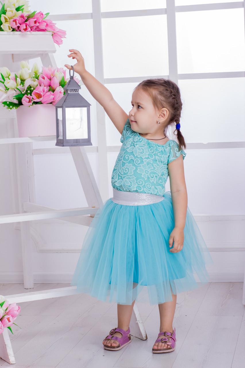 Детская фатиновая юбка №3530