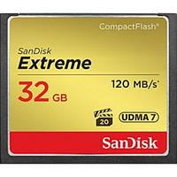 Карта памяти SanDisk Extreme Compact Flash 32GB (SDCFXSB-032G-G46)