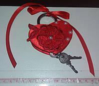 Свадебный замок (красный)