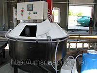 Бетоносмеситель БСМ-500 (планетарно-роторного типа)