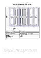 """Пресс форма """"Бетонный блок"""" с закрытым верхом 190х190х390 (под пресс ПВ-15))"""