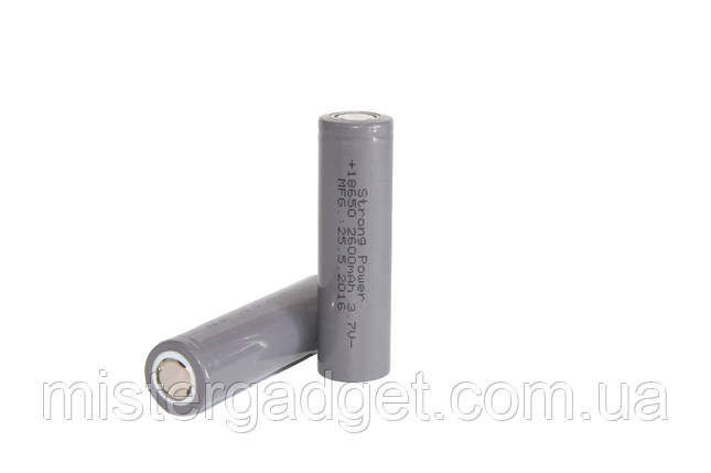 Литиевый аккумулятор Strong Power 18650 2600mAh, фото 2