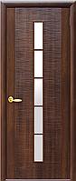Дюна 1S, Каштан (60, 70, 80, 90см).  Коллекция Фортис DeLuxe. Межкомнатные двери Новый Ст